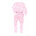 Onesie Don't Moose With Me! Pink