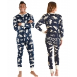 Onesie Don't Moose With Me! Blue