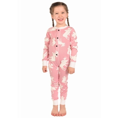 Kinder Onesie Don't Moose With Me! Pink