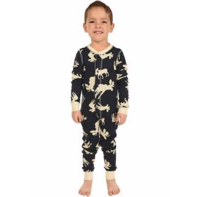 Kinder Onesie Don't Moose With Me! Blue
