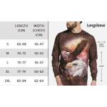 Northern Lights Wolf Longsleeve