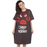 Dames Slaapshirt Lang Crabby In The Morning