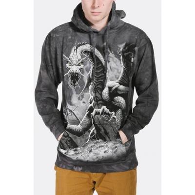 Black Dragon Fantasy Hoodie