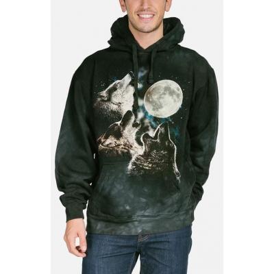 Three Wolf Moon Dieren Hoodie