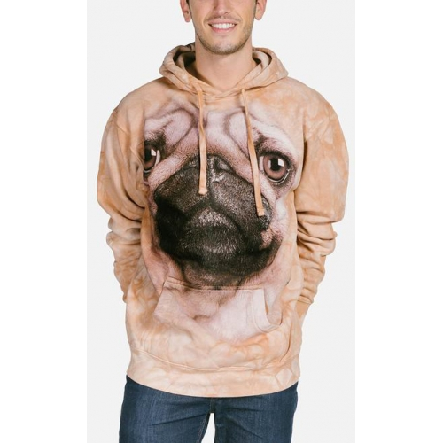 Pug Face Dieren Hoodie