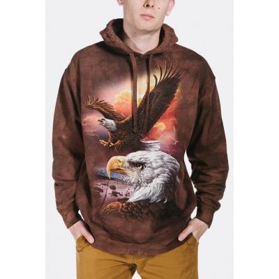 Eagle & Clouds Dieren Hoodie