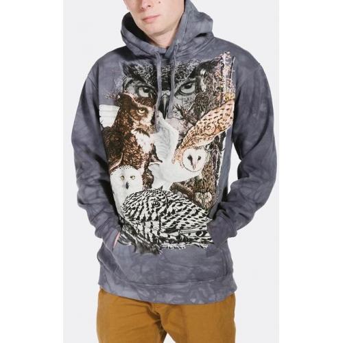 Find 11 Owls Hoodie