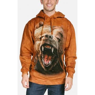 Grizzly Growl Dieren Hoodie