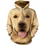 Big Face Golden Honden Hoodie