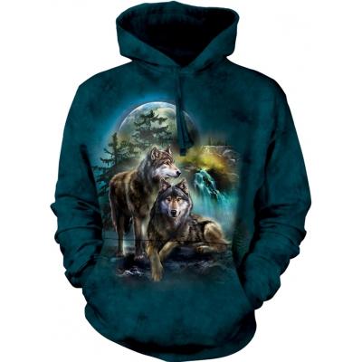 Wolf Lookout Dieren Hoodie