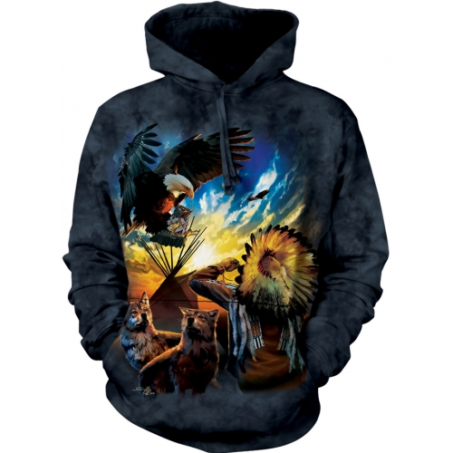 Eagle Prayer Native Hoodie