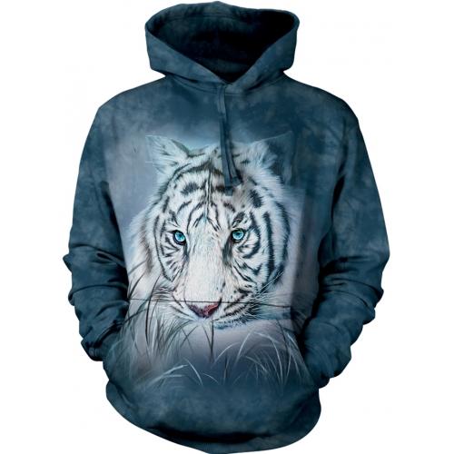 Thoughtful White Tiger Dieren Hoodie