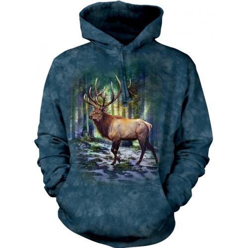 Sunlit Elk Dieren Hoodie