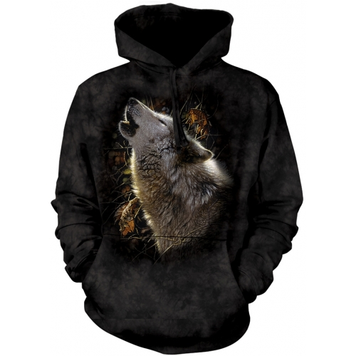 Song of Autumn Wolf Hoodie