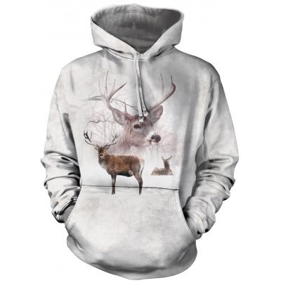 Wintertime Deer Dieren Hoodie