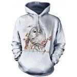 Country Owl Dieren Hoodie