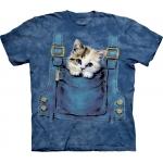 Kitty Overalls Katten Kindershirt