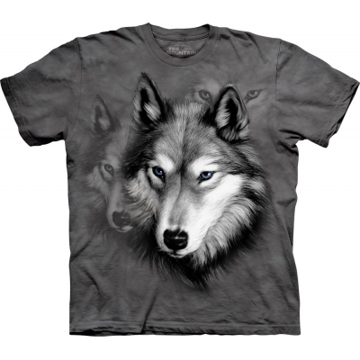 Wolf Portrait Kindershirt