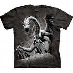 Black Dragon Draak Kindershirt