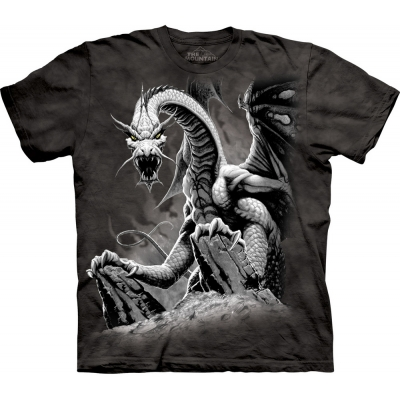 Black Dragon Draak Kindershirt