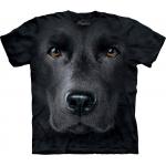 Black Lab Face Kindershirt