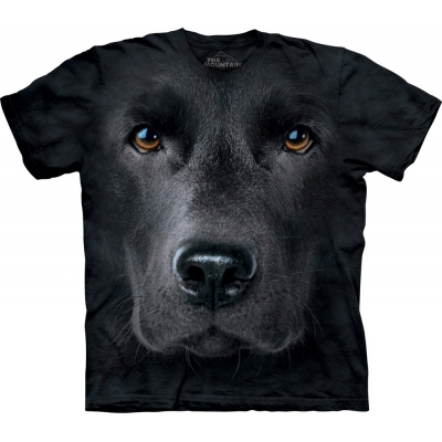 Black Lab Face Kindershirt