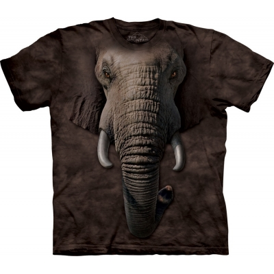 Elephant Face Kindershirt