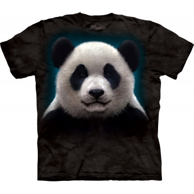 Panda Head Dieren Kindershirt