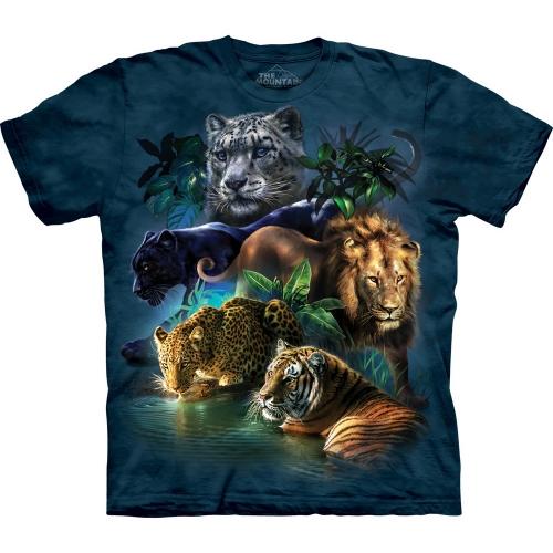 Big Cats Jungle Dieren Kindershirt