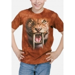 Sabertooth Tiger Tijger Kindershirt
