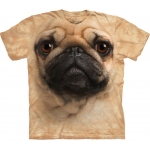 Pug Face Honden Kindershirt