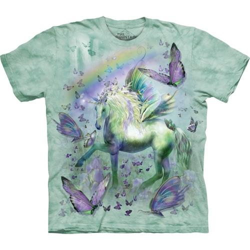 Unicorn & Butterflies Eenhoorn Kindershirt