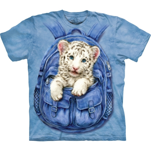 Backpack White Tiger Kindershirt
