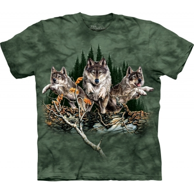 Find 12 Wolves Kindershirt