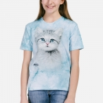 Blue Eyed Kitten Katten Shirt