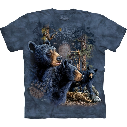 Find 13 Black Bear Kindershirt