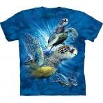 Find 9 Sea Turtles Kindershirt