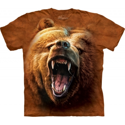 Grizzly Growl Beer Kindershirt