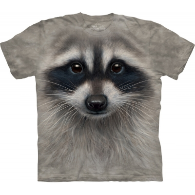 Raccoon Face Dieren Kindershirt