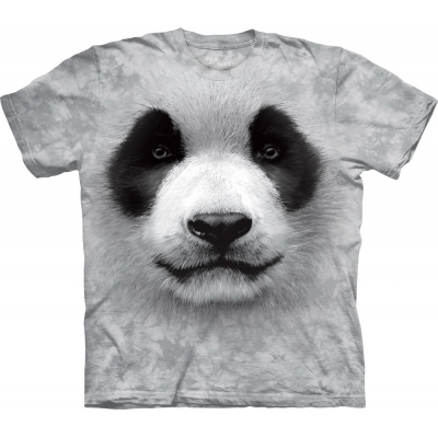 Big Face Panda Dieren Kindershirt