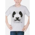 Big Face Panda Dieren Kindershirt