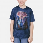 Charging Triceratops Kindershirt