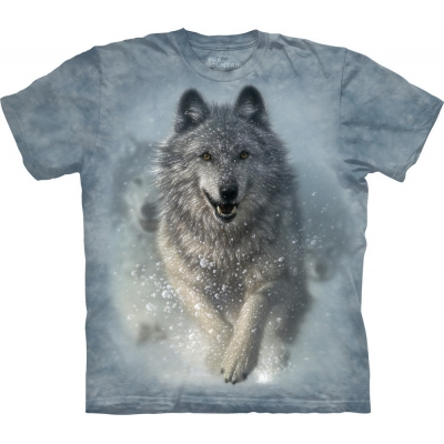 Snow Plow Wolf Kindershirt