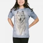 Snow Plow Wolf Kindershirt