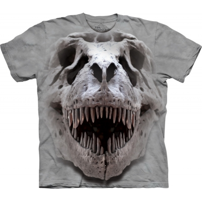 T-Rex Big Skull Dieren Kindershirt