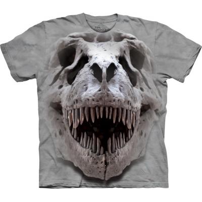 T-Rex Big Skull Dieren Kindershirt