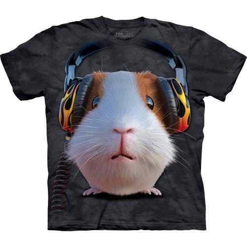 DJ Guinea Pig Kindershirt