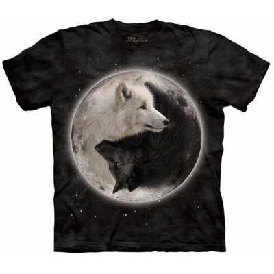 Yin Yang Wolves Kindershirt