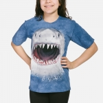 Wicked Nasty Shark Kindershirt