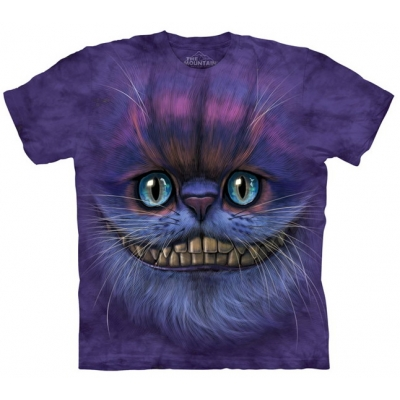 Big Face Cheshire Cat Katten Kindershirt